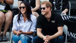 Harry en Meghan voor het eerst in openbaar