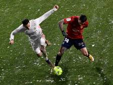 Real glijdt in winters Pamplona uit over Osasuna