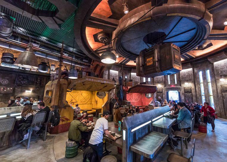 Docking Bay 7 Food and Cargo ofwel het restaurant. Beeld Joshua Sudock/Disney Parks