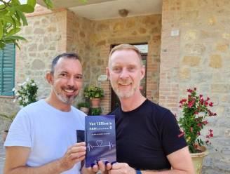 """B&B-uitbaters Jan en Filip blikken in boek terug op zware hartaanval en -revalidatie: """"Louterend, maar ook relevant voor wie hetzelfde mee heeft gemaakt"""""""