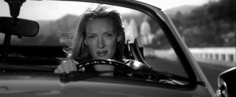 Uma Thurman in 'Kill Bill'. Beeld rv
