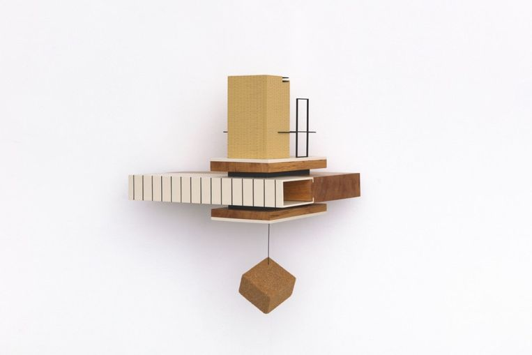 Caroline Van den Eynden - Jeu de Mouchoir (2020), DMW Gallery. Beeld GalleryViewer