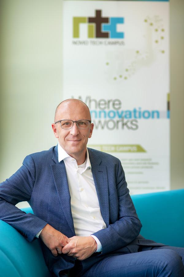 Bert Krikke, de nieuwe directeur van de Novio Tech Campus.