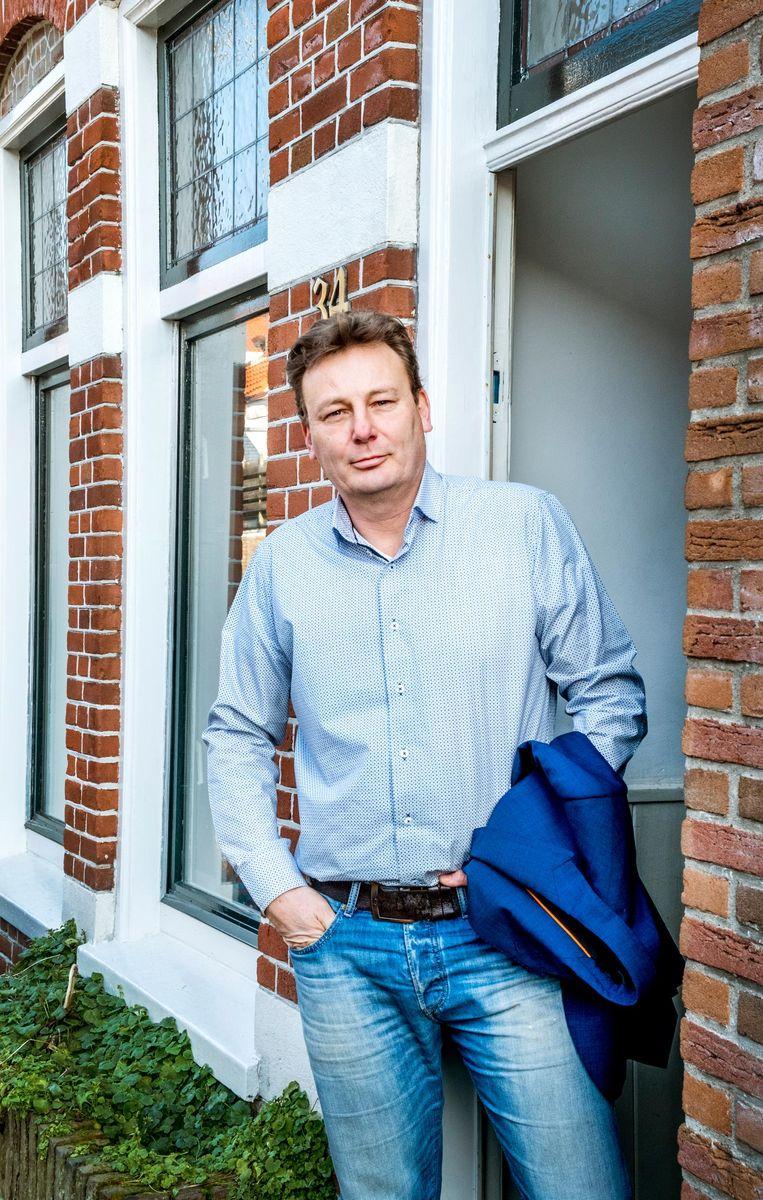 Edwin Visser Beeld Raymond Rutting / de Volkskrant