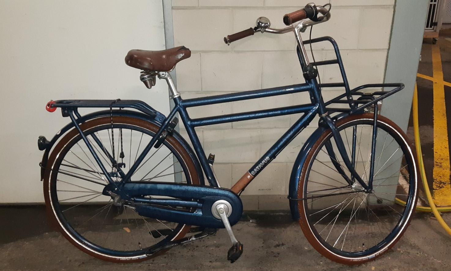 De gestolen Batavus-fiets uit Raalte.