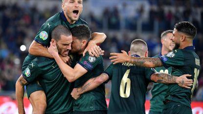 EK KWALIFICATIES. Ook Italië zeker van EK, Spanje nog niet na late tegengoal - Hagi wint met Roemenië - Denemarken doet gouden zaak