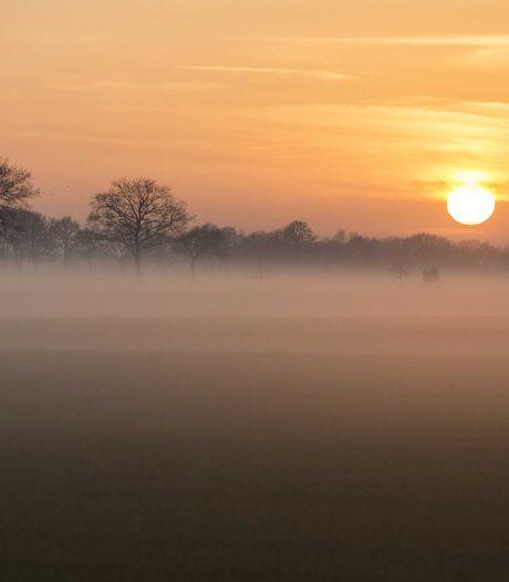 Code geel in midden en westen door dichte mist