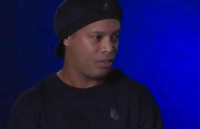 Het gezicht van Ronaldinho sprak boekdelen.