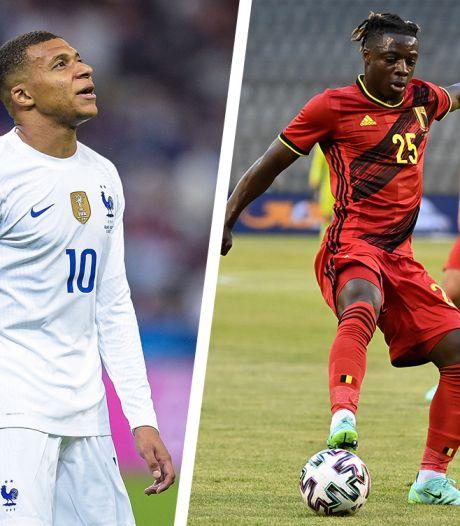 Mbappé impressionné par la vitesse de Doku