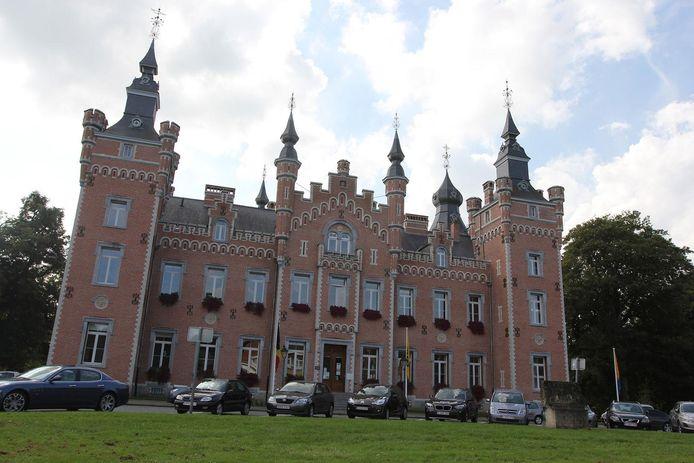 Het gemeentehuis van Dilbeek.