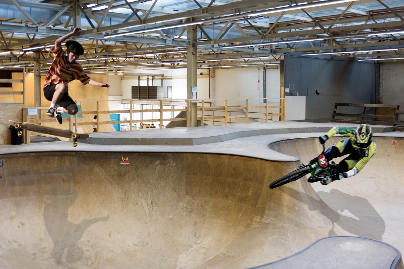 In 2018 is de muur tussen het BMX-park en de skatehal Area 51 in Eindhoven weggehaald. Nu ontwerpen alle gebruikers samen een nieuwe gezamenlijke baan.