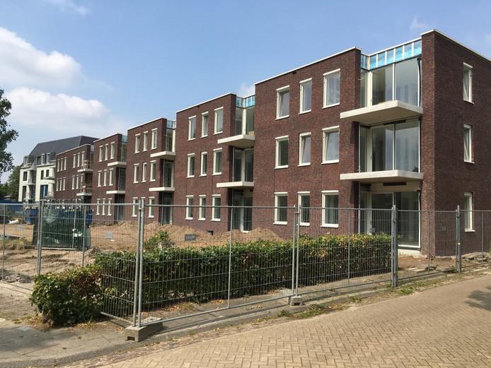 Aanbouw van De Leyenhof in Helvoirt.