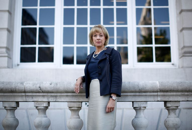 Nancy McKinstry van Wolters Kluwer NV Beeld Bloomberg via Getty Images