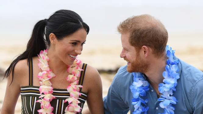 Nieuwe zwangerschapsfoto van Harry en Meghan vrijgegeven