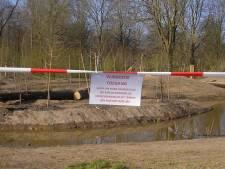 Verbod op betreden natuurspeelplaats Brediuspark: 'De speeltoestellen zijn nog niet gekeurd'