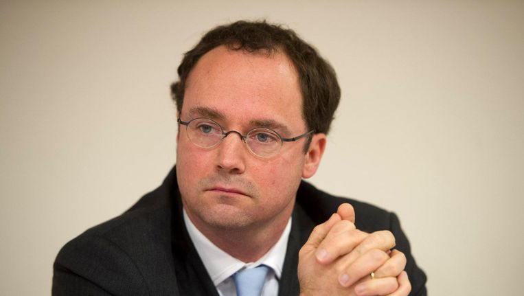 Bestuursvoorzitter van MC Slotervaart Willem de Boer. Beeld anp