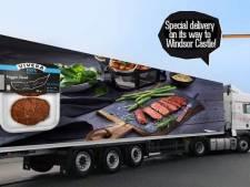 Holtense biefstuk voor kersvers echtpaar Harry en Meghan blijkt marketinggrap