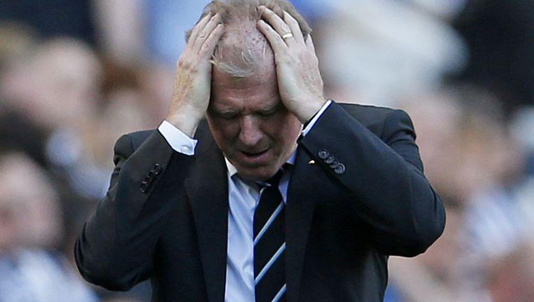 Steve McClaren, oud-trainer van FC Twente, blijft verliezen met Newcastle United Beeld reuters