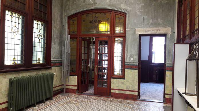 Deze ruimte is in originele staat teruggebracht.