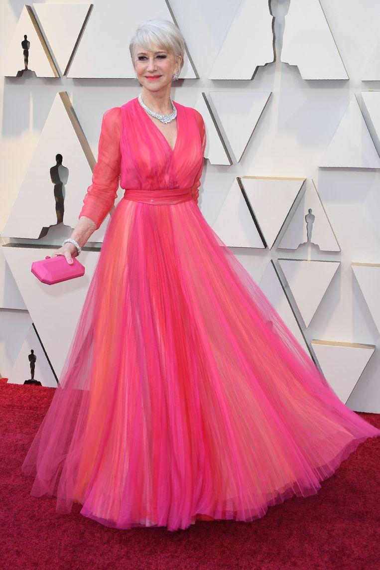 Op stijl staat geen leeftijd, bewijst de Britse Helen Mirren.