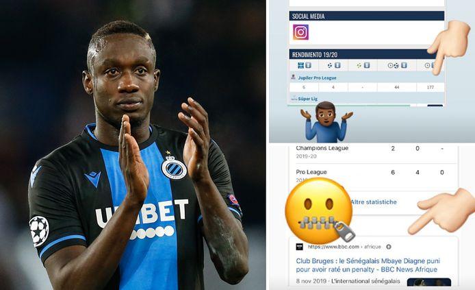 Belga/Instagram Mbaye Diagne