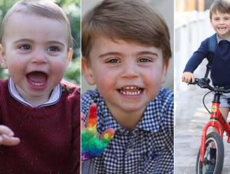 Ze worden snel groot: prins Louis viert 3de verjaardag en daar hoort een nieuwe foto bij