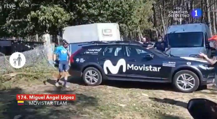 Miguel Angel Lopez s'est senti abandonné par ses équipiers, il a voulu jeter l'éponge.