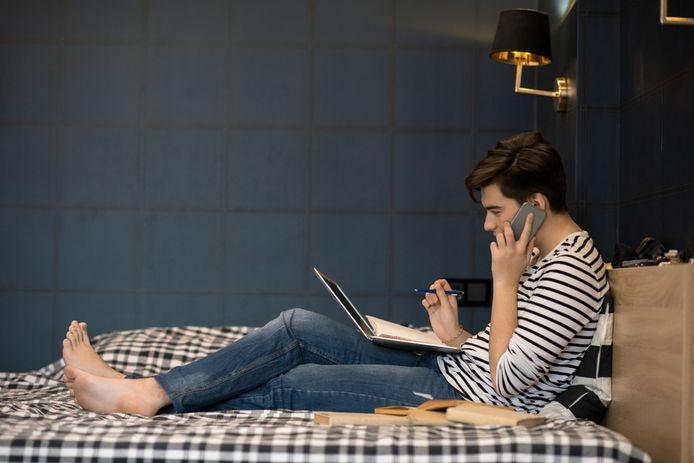 Studenten komen maar moeilijk aan een eigen kamer in de stad waar ze studeren.