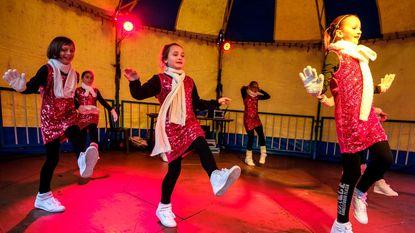Dansoptreden sluit Boom Wintersfeer af