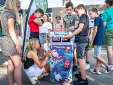 Basisschool Trudo in Helmond wint zelf ontworpen prullenbak bij zwerfafvalproject KLIEN IT