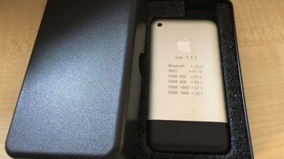Zeldzaam prototype van allereerste iPhone te koop voor gigantische som
