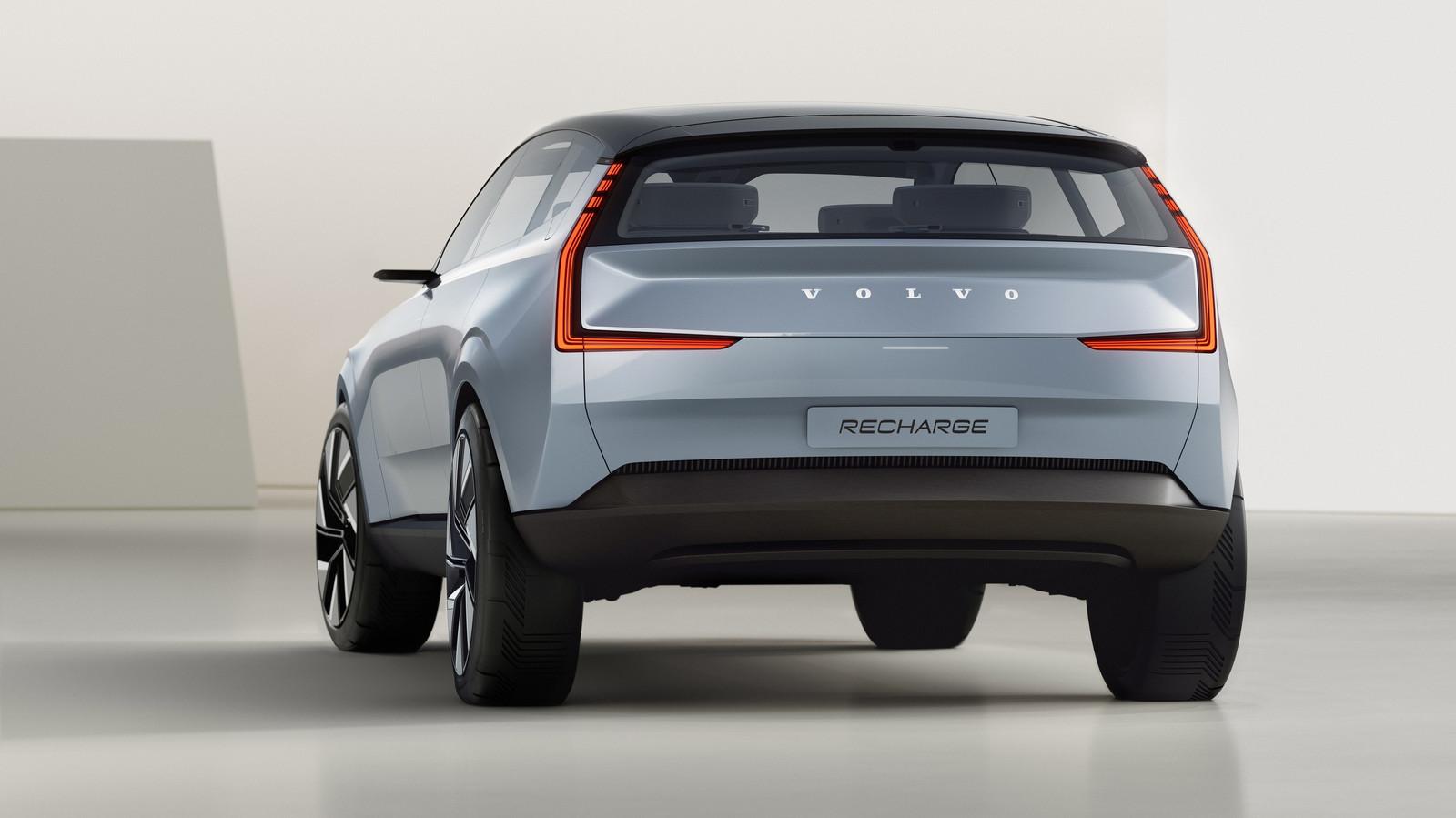 Volvo presenteerde onlangs soortgelijke plannen met deze Concept Recharge.
