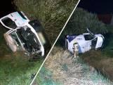 Automobilist gewond na ernstig ongeluk in Hoek
