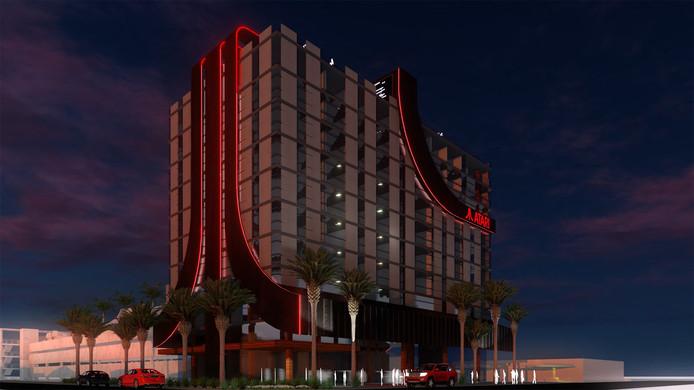 Atari verleent zijn naam aan gaminghotels die vanaf 2020 in Amerika worden gebouwd.