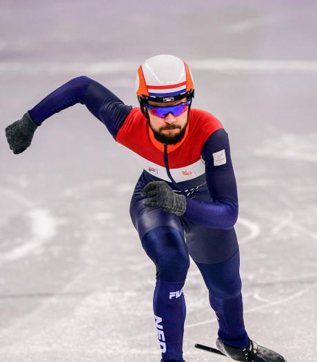 Knegt stelt teleur, Van Kerkhof tweede in B-finale