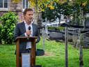 Wethouder Mathijs Kuijken kreeg zelf te maken met zelfdoding in de familie, zo vertelde hij in zijn toespraak.