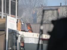 Brand bij meubelbedrijf aan Rotterdamseweg