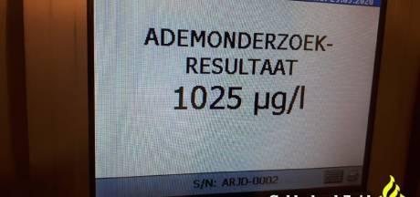 Bestuurder uit Kerkwijk nog dronken van avond ervoor: rijbewijs kwijt