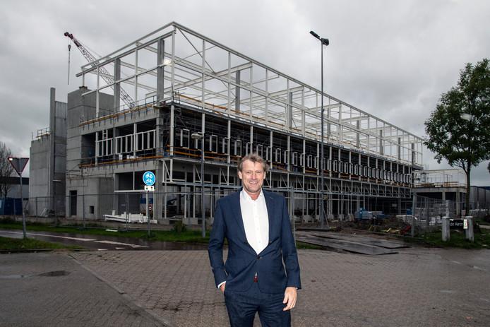 Directeur Eric Boeijen van Chefs Culinar voor de nieuwbouw op Bijsterhuizen.