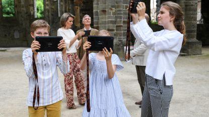 Koningskinderen vieren vakantie met gezinsuitstapje