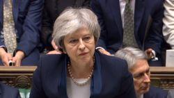 """Regeringswoordvoerder: """"May zal niet aftreden"""""""
