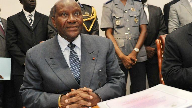Duncan is de nieuwe premier van het Afrikaanse land. Beeld AFP