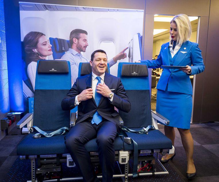 KLM-topman Pieter Elbers. Beeld ANP