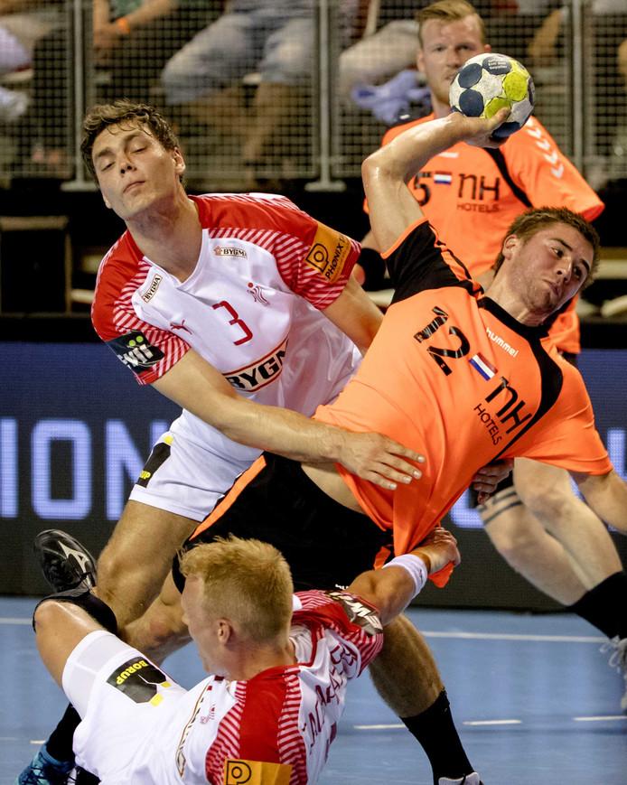 Luc Steins maakte acht goals namens Nederland.