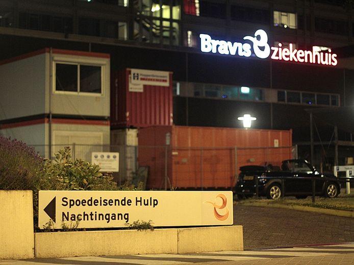 Gesloten spoedeisende hulp van het Bravis-ziekenhuis in Roosendaal