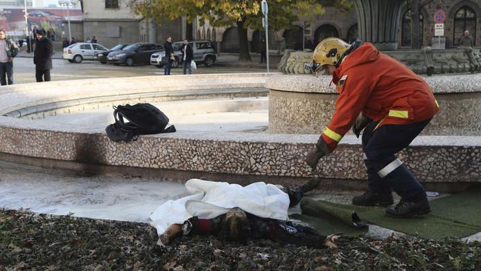 Immolation par le feu à Sofia (3 novembre)