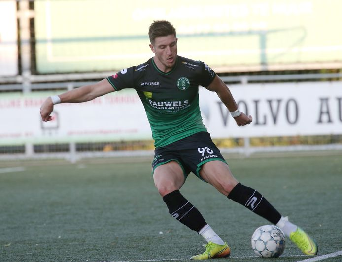 Verdediger Laurens Huysentruyt kwam in het tussenseizoen over van reeksgenoot SV Oostkamp.