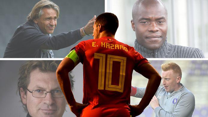 Quelles perspectives pour Eden Hazard à l'Euro? Nous avons demandé l'avis de Régis Brouard, Mbo Mpenza, Frédéric Waseige et Will Still.