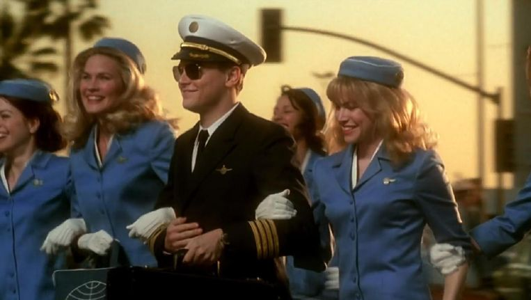 Stil uit Catch me if you can. Beeld YouTube.