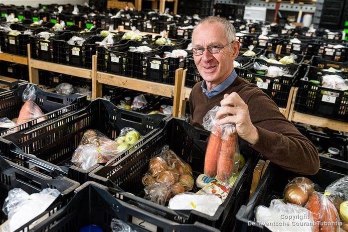 Ruud Gardenbroek, voozitter van de Voedselbank Enschede-Haaksbergen
